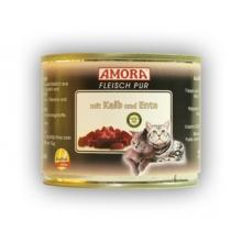 Amora kassikonservid vasikalihaga 12x200 gr. 100% liha!