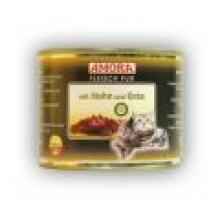 Amora konserv kassidele pardilihaga 12x200 gr. 100% liha!