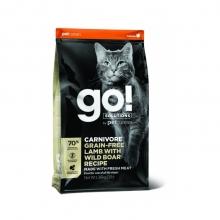 GO! Solutions teraviljavaba kassitoit metssea ja lambalihaga, 3,7 kg