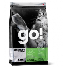 Go! Sensitivity teraviljavaba kassitoit lõhega, 3,63 kg