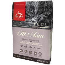 Orijen Fit & Trim kassitoit ülekaalulisele ja steriliseeritud kassile, 5,4 kg